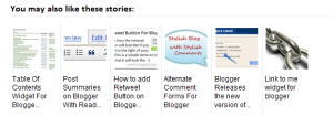 related posts with thumbnails for blogger